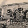 Koolerapandeemiaid ning nende põhjustatud rahutusi ja segadusi tuli Venemaal ette veel 20. sajandi alguses. (Pilt: A. Wladimiroff / Wellcome Images / Wikimedia Commons)