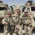 Nii mõnigi Eesti kaitseväelane on teinud kaasa rohkem kui ühe Afganistani missiooni. Reemet Pirk (keskel) käis selles rahutus kohas missioonil kaks korda.