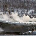 VIDEO | Laevaremonditehases süttis põlema Venemaa ainus lennukikandja Admiral Kuznetsov