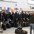 Eesti korvpallikoondis jõudis Permist koju