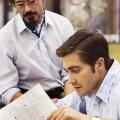 Jake Gyllenhaal ja Robert Downey Jr.
