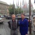 Villu Otsmann ja Karmen Turk Strasbourgis