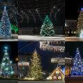 FOTOD | Avalda arvamust! Millist Eesti linna ehib sel aastal kõige kaunim jõulupuu?