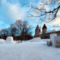 ФОТО | В Таллинне построят снежный городок