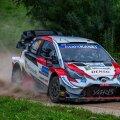Septembri alguses Rally Estonial 4. kohaga leppinud Elfyn Evansil on suurimad võimalused vormistada Monzas MM-tiitel.