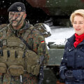Saksa kaitseminister Ursula von der Leyen eile Leedus Bundeswehri sõduriitega kohtumas.
