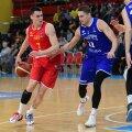 Nenad Dimitrijevic (palliga) eelmisel aastal mängus Eesti vastu.