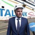 VIDEO | Paavo Nõgene Tallinki uue laeva vettelaskmisel: vaktsineerimise tempot tuleb tõsta, et inimesed saaksid taas rahulikult reisida