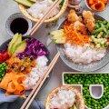Kogu pere õhtusöögihitt – poké-kauss! Hea ja värviline ning täpselt nii tervislik, kui ise soovid!