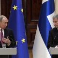 """Путин выступил за восстановление отношений с ЕС и поблагодарил Финляндию за """"Северный поток-2"""""""