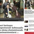 Linnameedia jääb Savisaare protsessi kajastades vaoshoituks, Mihhail Korb annab vene keeles suuri lubadusi