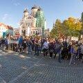 Pagulasvastased korraldasid 2015. aastal üle Eesti meeleavaldusi, kus protestiti Eestisse suunatud sõjapõgenike vastu.