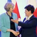 Theresa May ja Beata Szydło