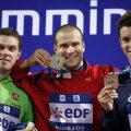 Markus Rogan (keskel)