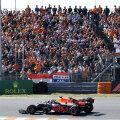 Max Verstappen võitis tuhandete Hollandi ees kvalifikatsiooni.