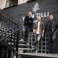 Vasakult: Martin Sõgel, Karl Astok ja Mikk Valtna. Kõik kolm alustasid oma teed toitlustusäris Joel Ostrati restoranis Cafe Truffe.
