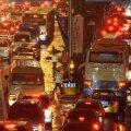 Liiklusummik Pekingis tipptunnil