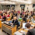 Tallinna Linnavolikogu istung, eelarve menetlemine