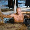 Путин вновь поучаствовал в крещенских купаниях