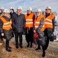 В четверг состоялась церемония закладки краеугольного камня резиденции Haven Kakumäe