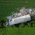 Liiklusõnnetus Tallinna-Tartu maanteel Pikknurmes