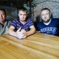 Kameradi juhatuse liikmed (vasakult) Pavel Stimmer, Daniil Galitski ja Dmitri Šutov