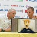 Selle kuldse karika nimel hakkavad Tallinna lahel võistlema ka Lauri Väinsalu (vasakul) ja Deniss Karpak.
