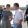 President Kaljulaid mullu Narvas.