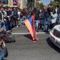 FOTOD | Jerevanis protestitakse Armeenia senise presidendi peaministriks hakkamise vastu