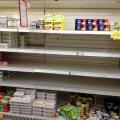 ФОТО: Масляный кризис шагает по стране. На полках некоторых магазинов — дуля с маслом