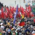 FOTOD | Leedu 100: Vilniuses toimus noorte rongkäik, heisati Balti riikide lipud