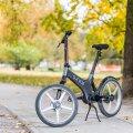 Gocycle on väike, kerge ja mugav ning sõidab elektriga.