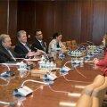 President Kersti Kaljulaid Nwe Yorgis ÜRO peasekretäri Antonio Guterres'iga