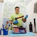 Sven Kornak teab, mida teha, kui remonditöö tuleb mõneks ajaks pooleli jätta.