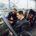 Peaminister Jüri Ratas tutvus NATO Balti õhuturbe missiooni täitva Tšehhi lennusalgaga
