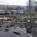 FOTOD | Saksamaal, Hollandis ja Belgias pani torm puud kukkuma, katused lendama ja takistab liiklust