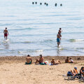Horvaatias Splitis sai eelmisel pühapäeval juba vees kahlata.