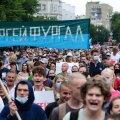Neljandat nädalat järjest kogunes Habarovskis meelt avaldama tuhandeid inimesi.