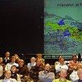 PROTESTIKOOSOLEK TEATRIS: Maidla ja teiste kaevanduste alla jääda võivate valdade toetuseks toimus septembris NO-teatris protestikoosolek. HELEN URBANIK