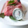Lihatermomeeter peab olema torgatud kõige kobedamsse lihatüki ossa.