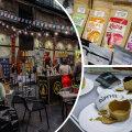 ФОТО | Чай из гриба-паразита, латте из банана, съедобные стаканчики. Самые интересные находки с Таллиннского фестиваля кофе и где их приобрести