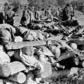 Pilt, mis avanes pärast juutide massimõrva Kloogal. Teine samas suurusjärgus massimõrv toimus 1942. aasta septembris Kalevi-Liival