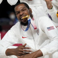 Kevin Durant Tokyo olümpial