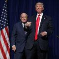 Rudy Giuliani ja Donald Trump 6. septembril toimunud kampaaniaüritusel