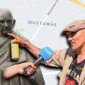 VIDEO | Mustamäelane Gandhi kujust: tehku Eesti inimestele kõigepealt midagi, siis tehku monumente