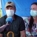 """ОПРОС   Жители Ласнамяэ рассказали, почему вакцинировалась на фестивале пирожков: """"Я просто пришла и подставила плечо"""""""