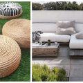 TEE ISE | Seitse lahedat ideed, kuidas ise terrassile mööbel meisterdada