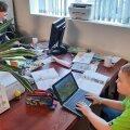 Õnneli Mati lapsed käisid mullu õppimas tema õigusbüroo ruumides.
