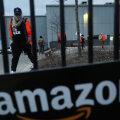 Chicago Amazoni töötajad protesteerimas ettevõtte tervisekaitse reeglite rikkumise vastu