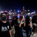 OTSEPILT ja FOTOD | Hongkongis moodustatakse Baltimaade eeskujul inimketti demokraatia toetuseks